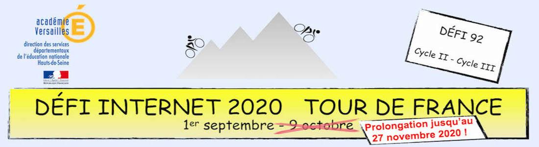 Défi Internet Tour de France 2020